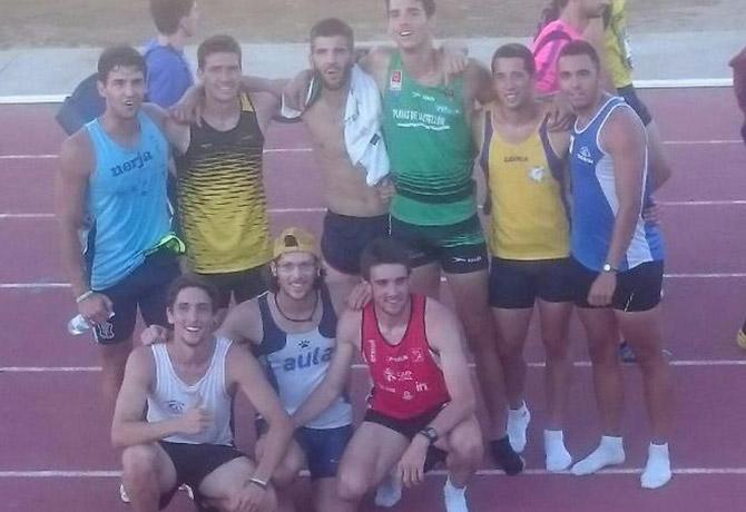 Campeonato de España Promesa con nuestros dos campeones Sprinteros