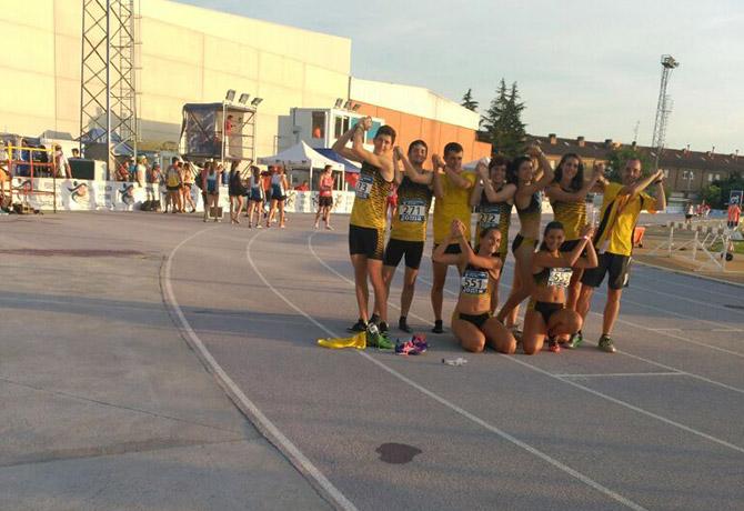 Un total de 6 atletas de Sprint en el Cto. de España Junior