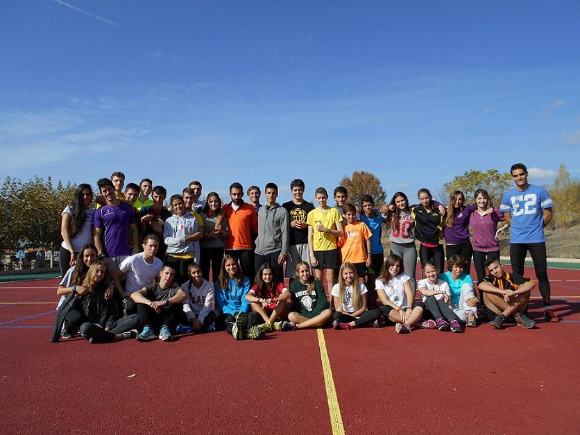 Gran concentración de nuestros atletas en Cervera de Buitrago
