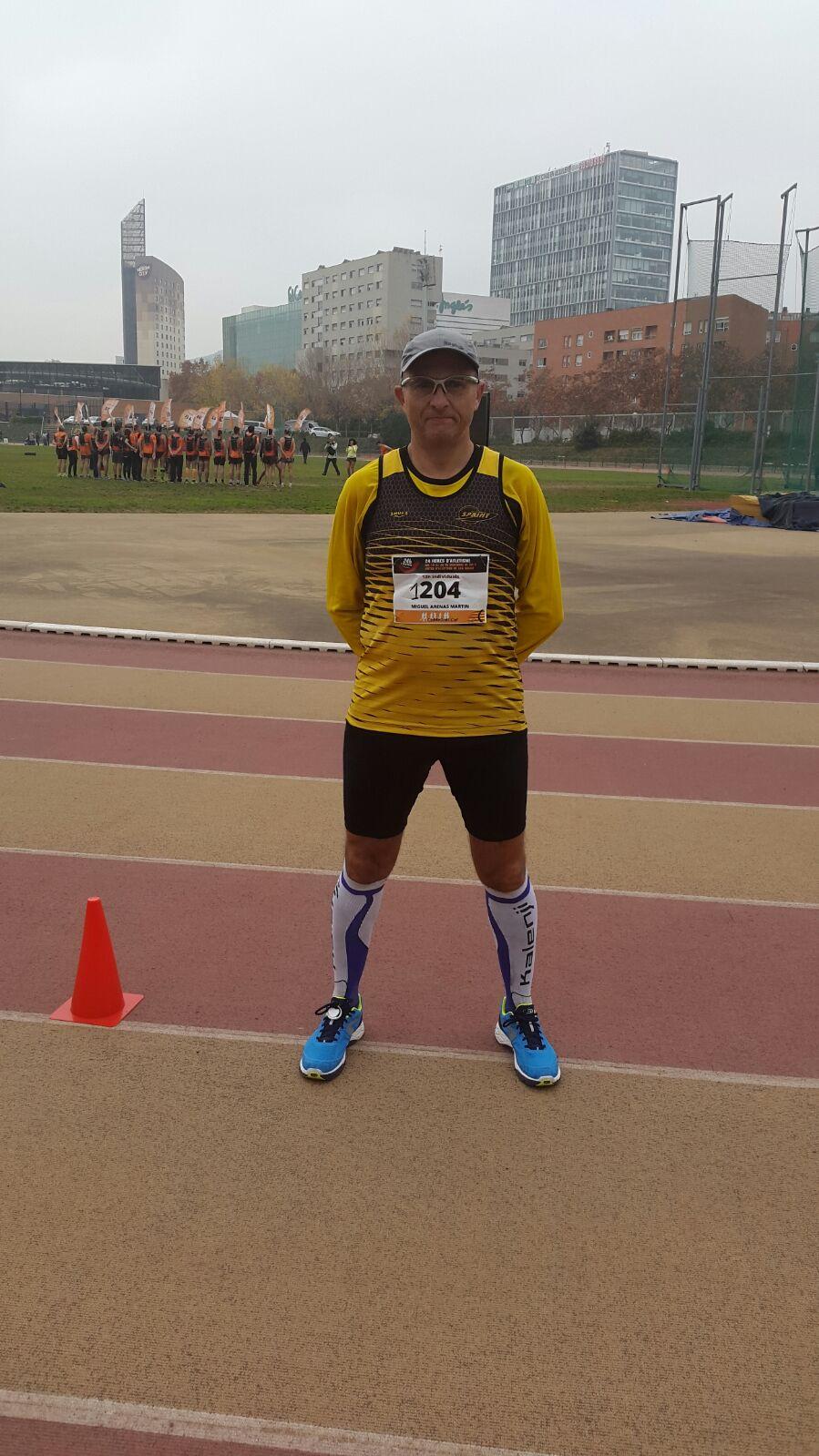Miguel Arenas supera con éxito las 12 horas en pista!!
