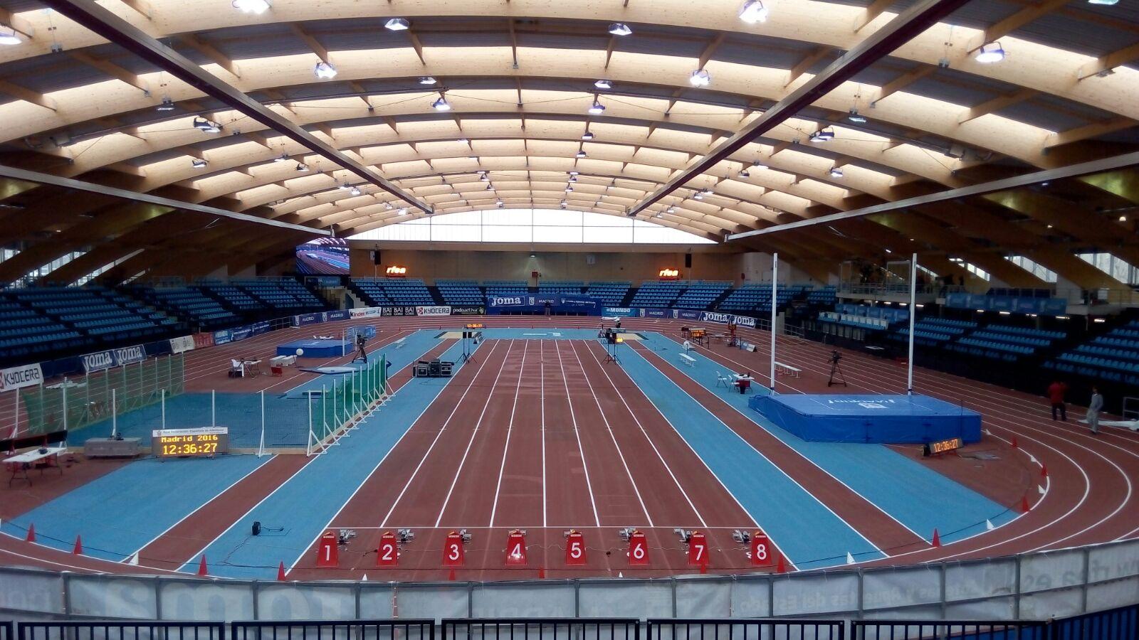 Campeonato de Madrid cadete y juvenil en pista cubierta