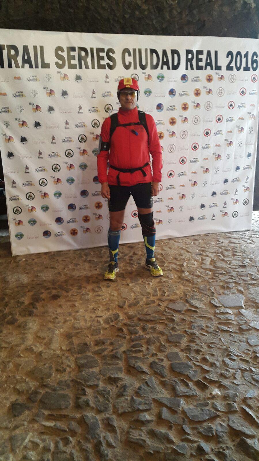 Miguel Arenas finaliza la Ultra Trail de Los Castillos