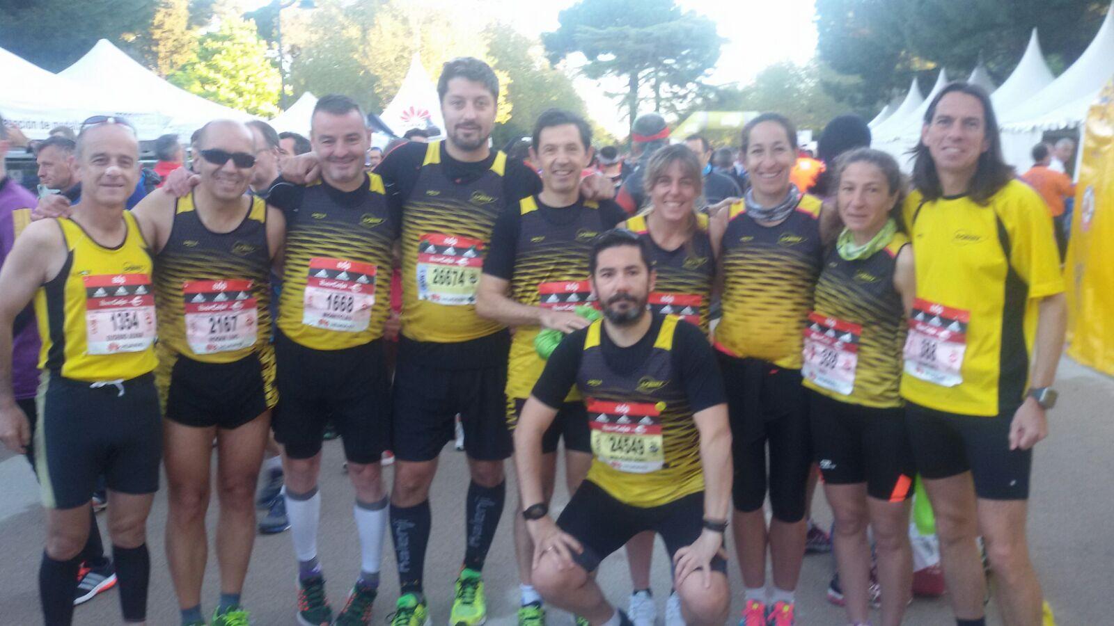 Nuestros veteranos brillan en el Maratón de Madrid