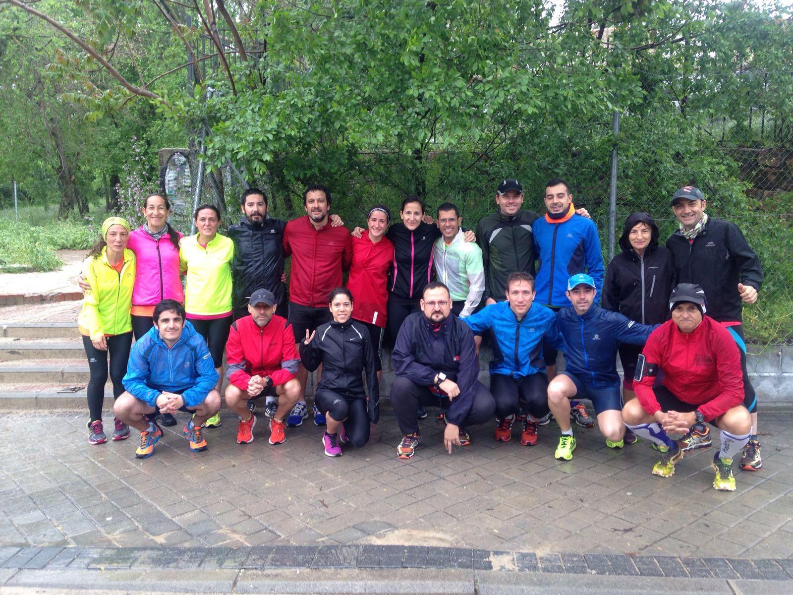 Estupenda quedada de Running por El Pardo