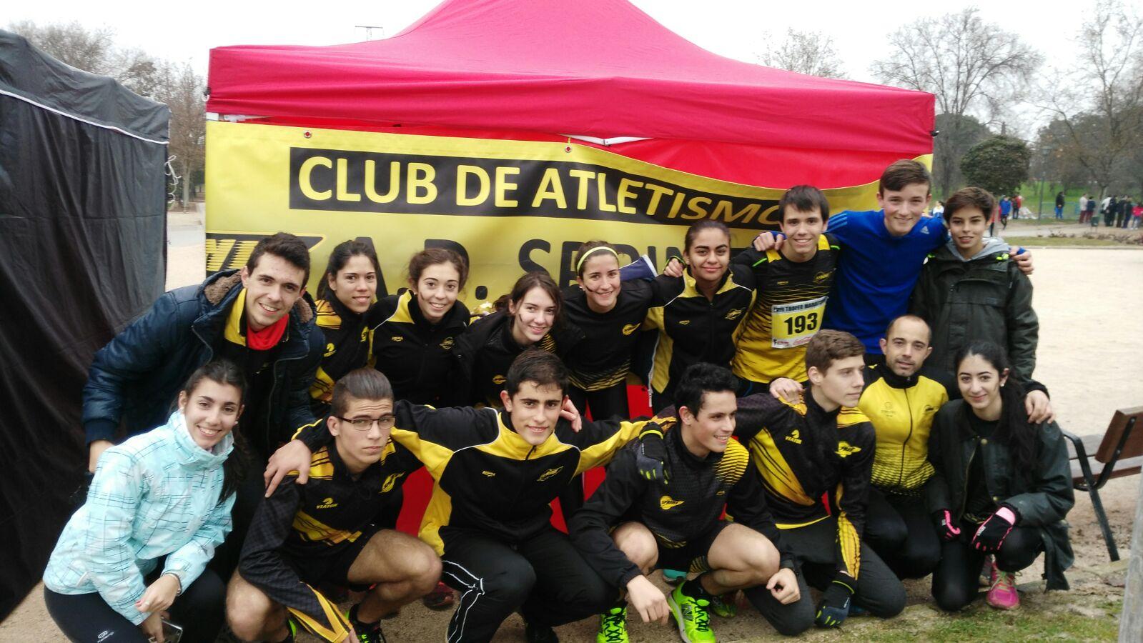 Atletas seleccionados para Cto Madrid de cross por equipos