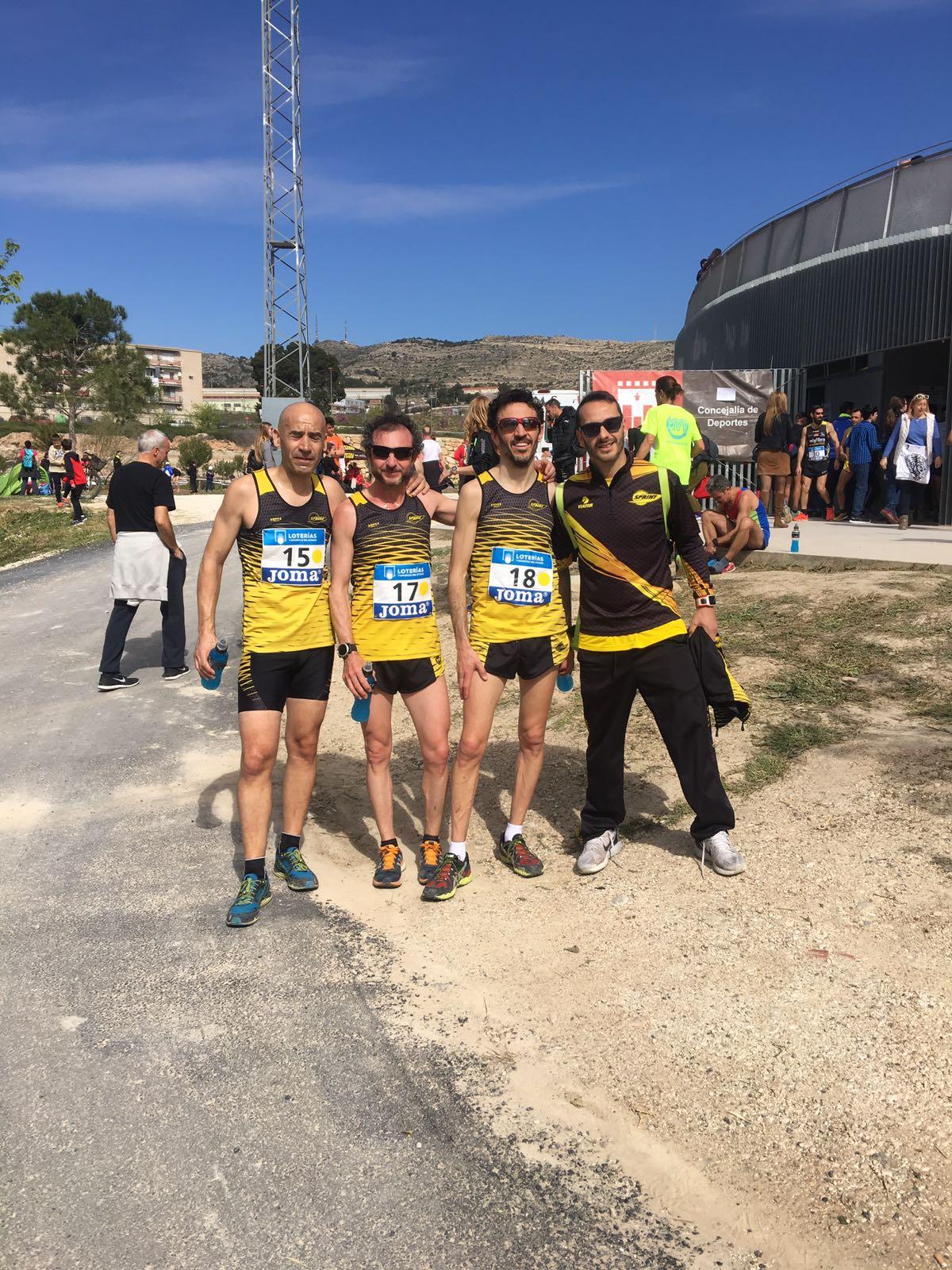 Nuestros Veteranos en el Cto de España de cross por equipos