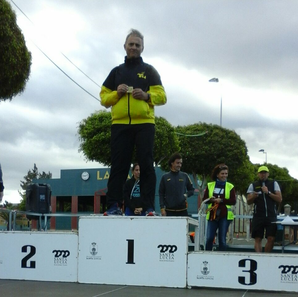 Miguel Arenas Campeón de España M55 en 100km