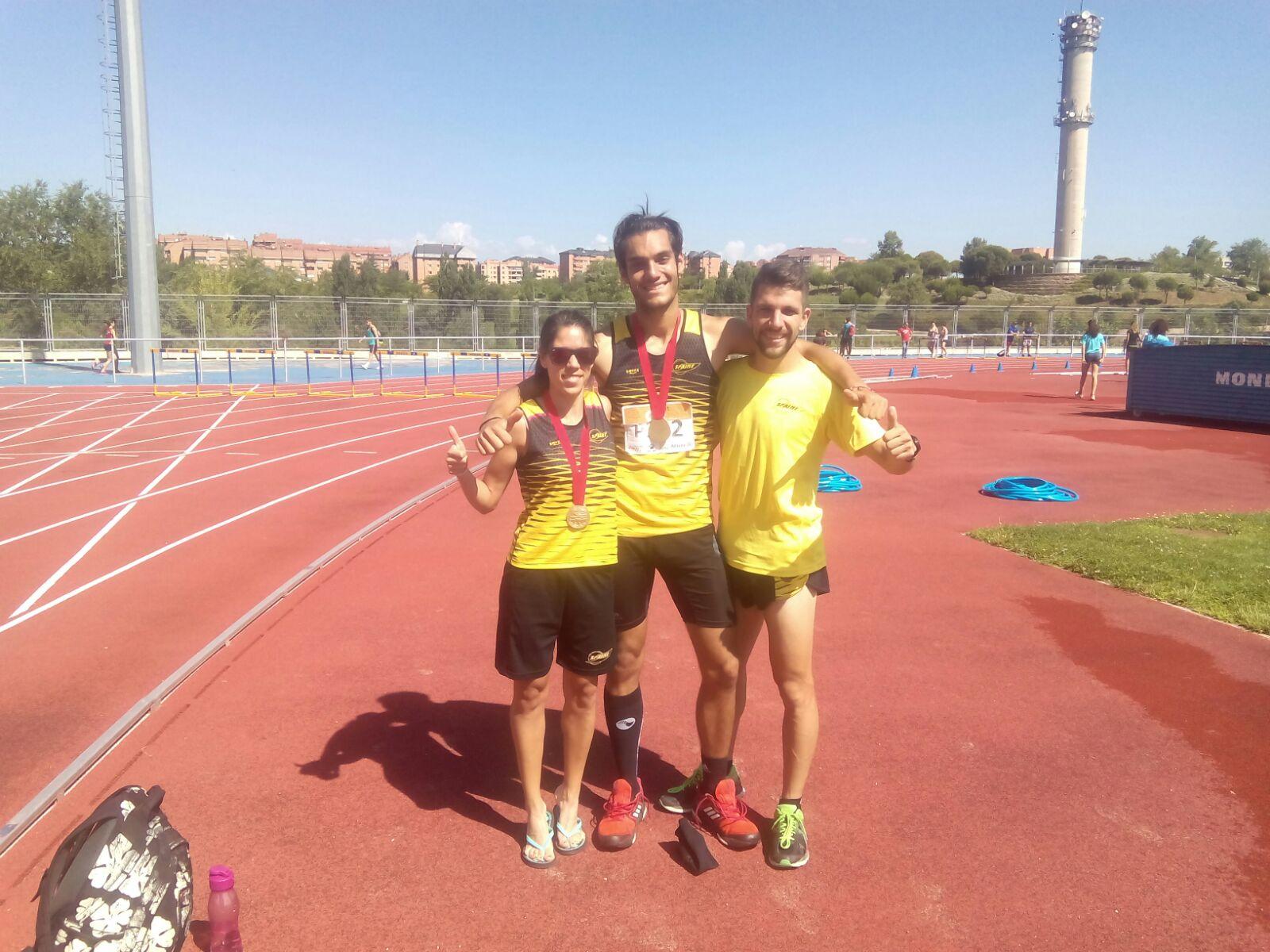 Gran Campeonato de Madrid Absoluto para nuestros atletas