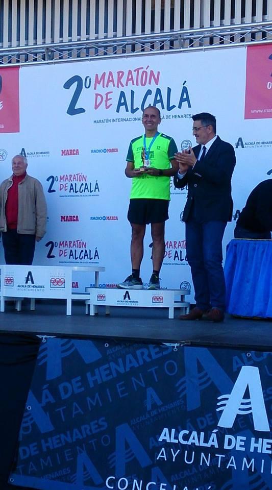 Nuestro Veterano Roque Samper en el Maratón de Alcalá