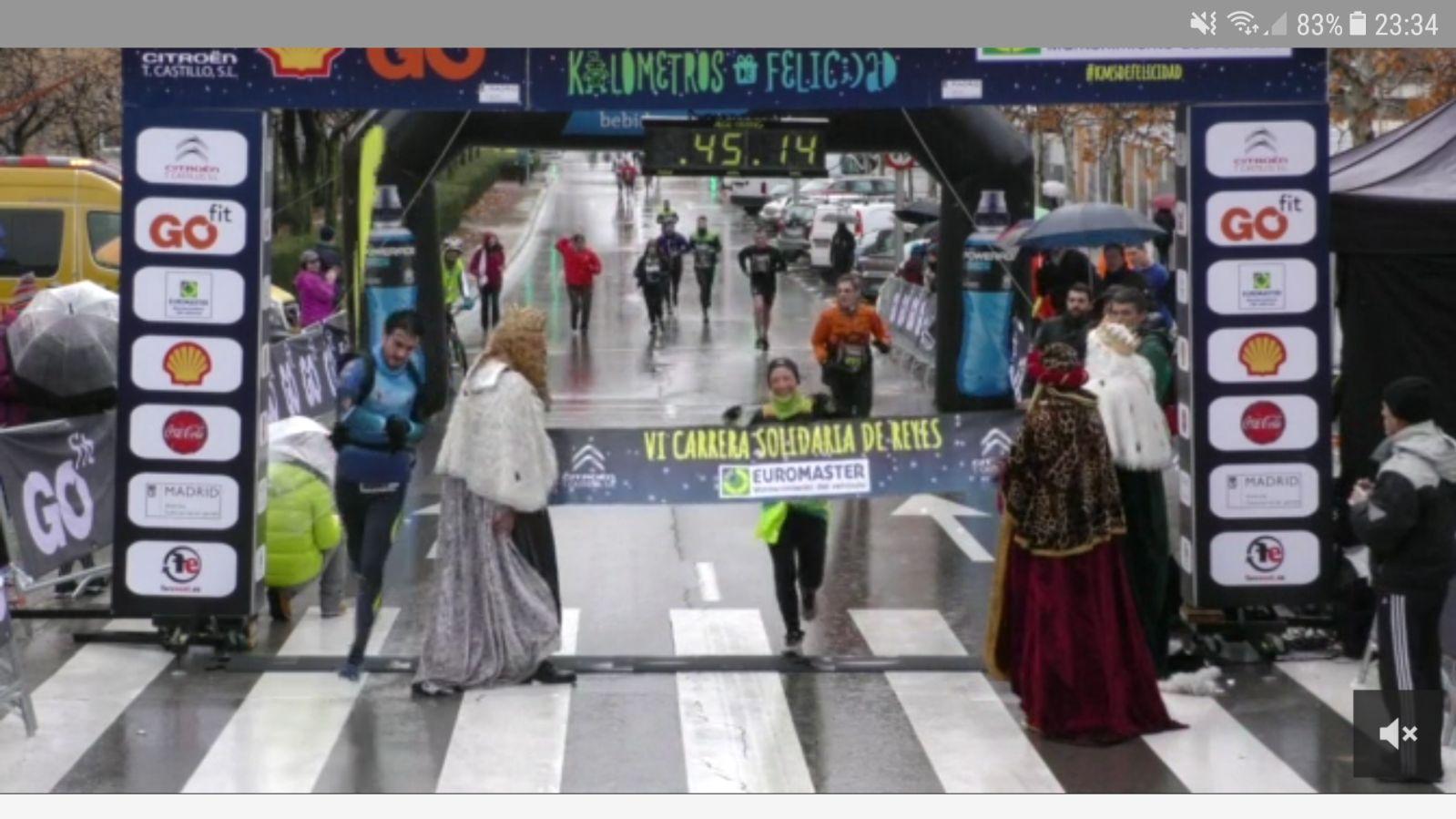 La carrera de Reyes con sabor Sprintero!