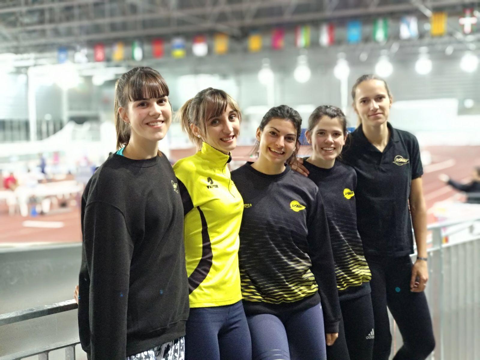 5 de nuestras chicas en el Campeonato de España SUB23