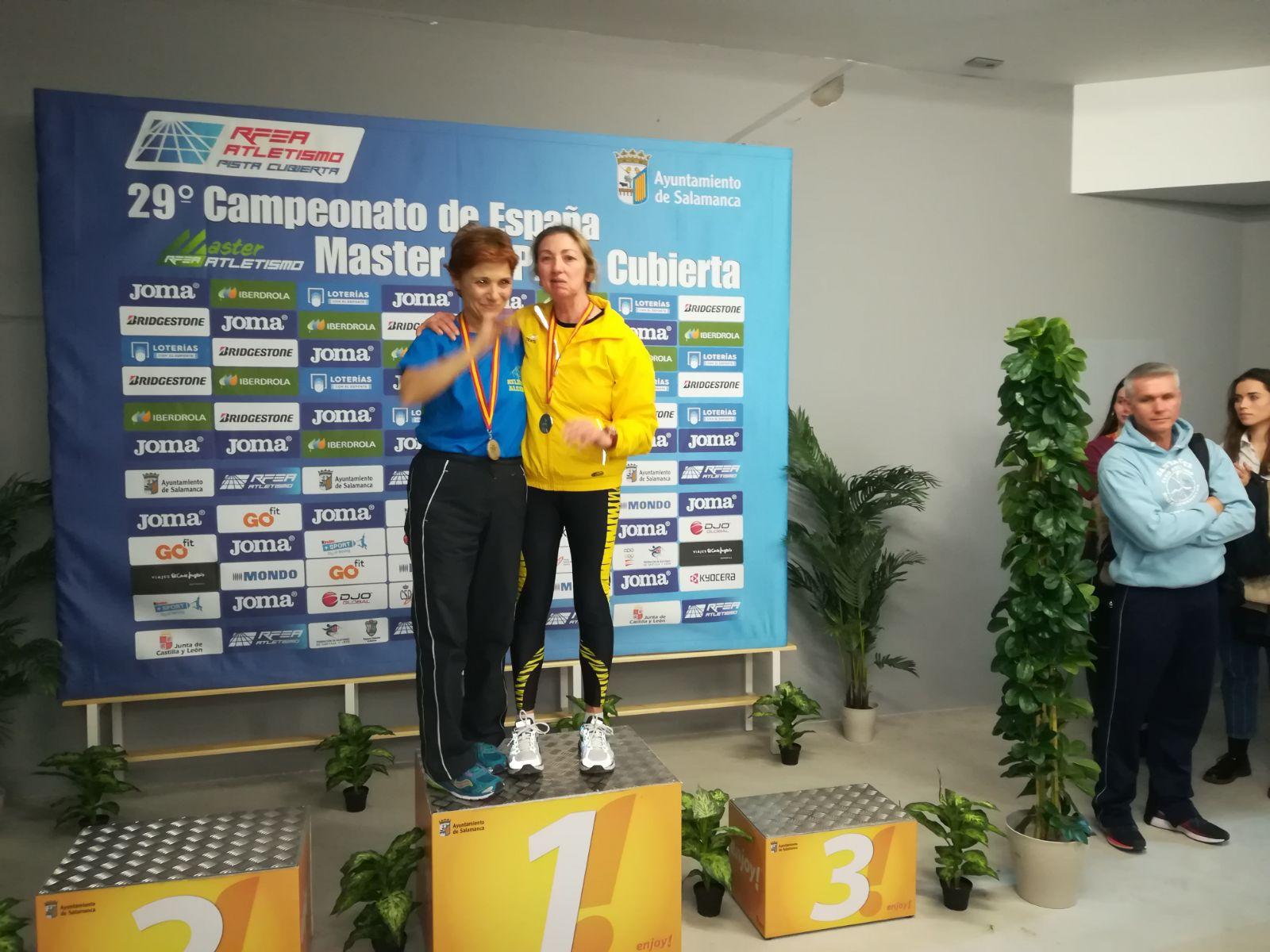 Los Sprintvets vuelven con 4 medallas de su Campeonato de España