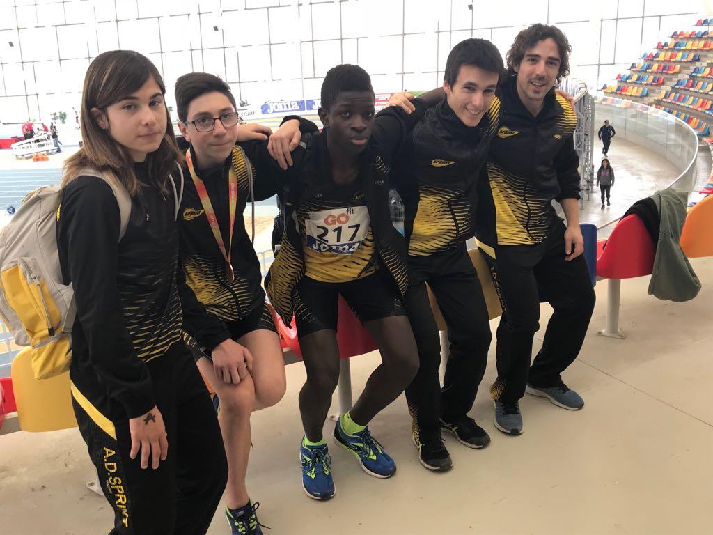 Espectacular Campeonato de España Sub 16 de pista cubierta
