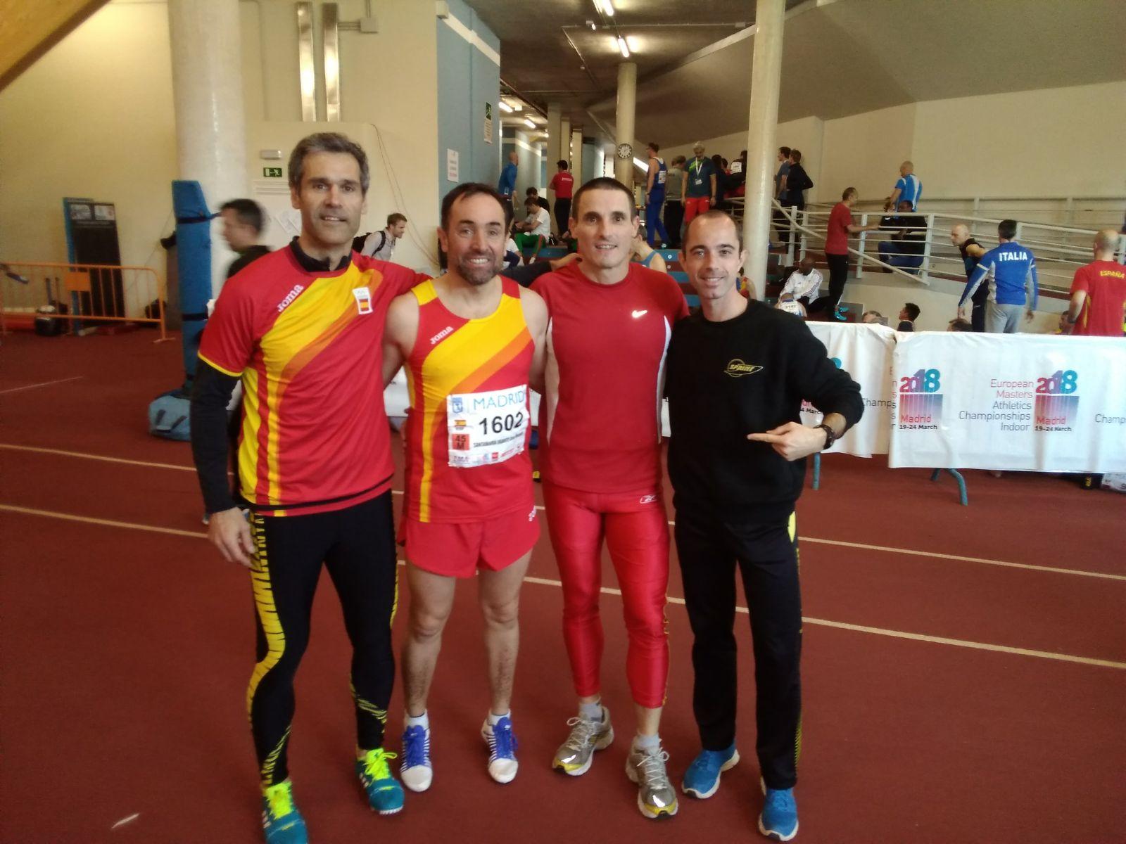 Los Sprintvets brillan en el Campeonato de Europa Máster