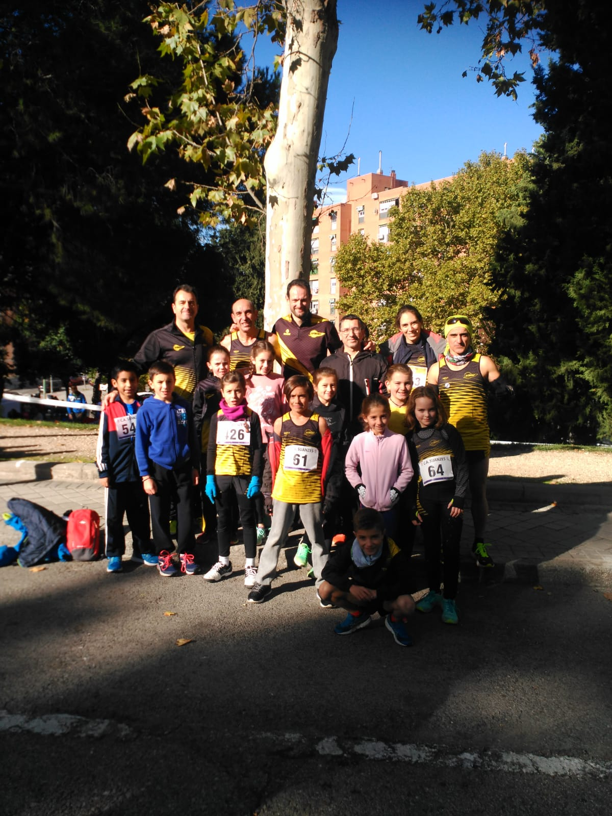 A.D. SPRINT EN EL CROSS CLUB ATLETISMO SUANZES – CTO. DE MADRID CROSS CORTO MASTER
