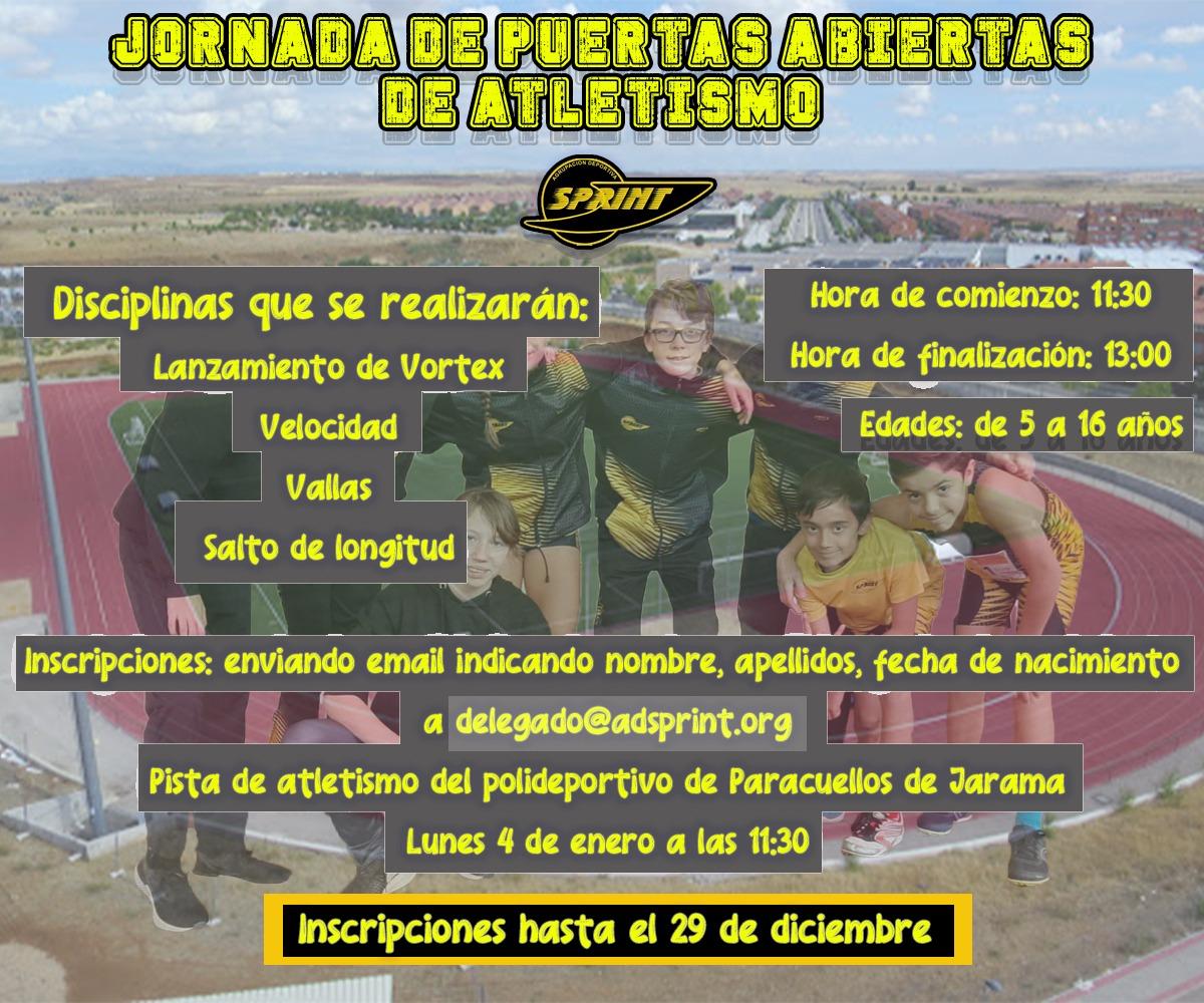 JORNADA DE PUERTAS ABIERTAS EN PARACUELLOS